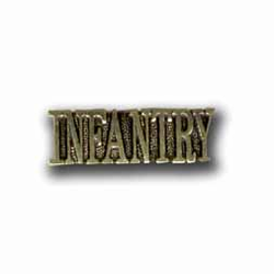 Army Infantry Military Pin