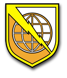 "Army Information System Command 11.75"" Patch Vinyl Transfer Decal"