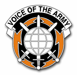 Army Information System Command Unit Crest Vinyl Transfer Decal