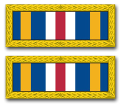 Army Joint Meritorious Unit Award Ribbon Vinyl Transfer Decal