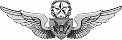 "Army Master Aircrew 11.75"" Decal"