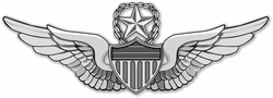 "Army Master Aviator Wings 3.8"" Vinyl Transfer Decal"