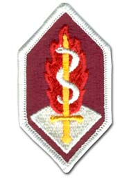Army Medical And Research Development Command Military Patch