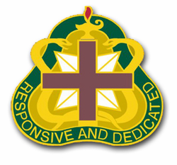 Army Medical Command Unit Crest  Vinyl Transfer Decal