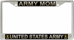 'Army Mom' License Plate Frame