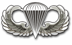 Army Parachutist Vinyl Transfer Decal