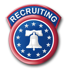 Army Recruiting Command Patch Vinyl Transfer Decal