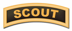 """Army Scout Tab Patch 5.5"""" Vinyl Transfer Decal"""