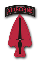 Army Special Operations Command Patch Vinyl Transfer Decal