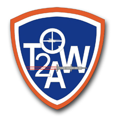 Army TOW2A Patch Vinyl Transfer Decal