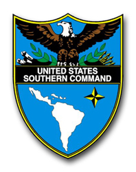 Army United States Southern Command  Patch Vinyl Transfer Decal