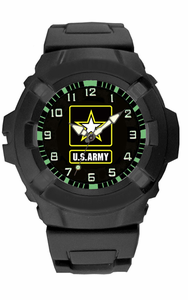 ARMY Watch with Rubber Strap