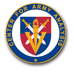 Center for Army Analysis Seal Vinyl Transfer Decal