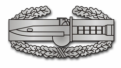 "Combat Action Badge 1st Award 3.8"" Decal"