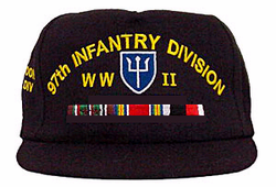 Custom Army Cap With Ribbons