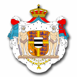 """Denmark Coats Of Arms 5.5"""" Decal"""