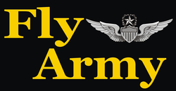 Fly Army Master Aviator Decal Sticker