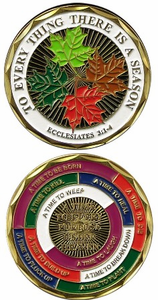For Everything There is a Season Challenge Coin
