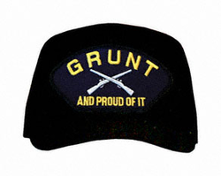 """""""Grunt And Proud Of It"""" with Logo Ball Cap"""