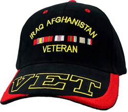 Iraq Afaganistan Veterans Adjustable Ball Cap