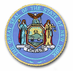 """New York State Seal 3"""" Patch"""