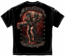 No One Gets Left Behind Black T-Shirt