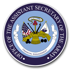 """Office of the Assistant Secretary of the Army 3.8"""" Patch Vinyl Transfer Decal"""