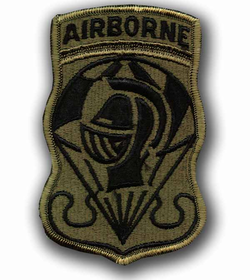 Parachute Team Subdued Military Patch