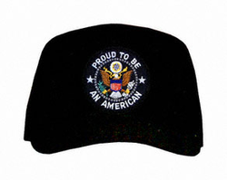 """Proud to be an American"" with Logo Ball Cap"