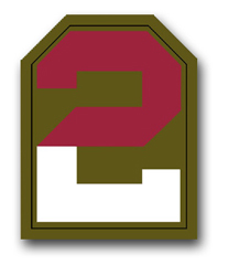 Second Army Patch Vinyl Transfer Decal