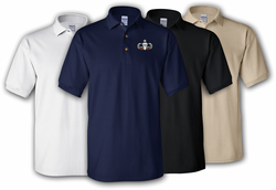 Senior 4 Combat Jumps Polo Shirt