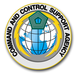 U.S. Army Command and Control Support Agency Patch Vinyl Transfer Decal