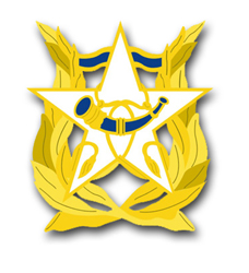 US Army Band Unit Crest Vinyl Transfer Decal