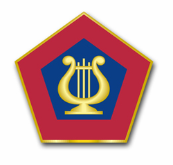 US Army Field Band Unit Crest Vinyl Transfer Decal