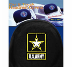 US Military Headrest Covers