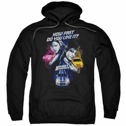 2 Fast 2 Furious pull-over hoodie Fast Women adult black