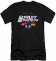 2 Fast 2 Furious slim-fit t-shirt Logo mens black