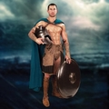 300 Rise Of An Empire Greek Blue Cape pre-order