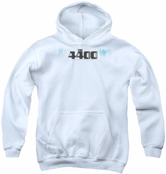 4400 youth teen hoodie The 4400 Logo white