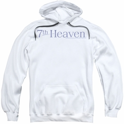 7th Heaven pull-over hoodie Logo adult white