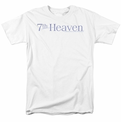 7Th Heaven t-shirt 7Th Heaven Logo mens white
