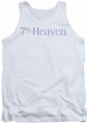 7th Heaven tank top 7th Heaven Logo mens white