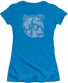 90210 juniors t-shirt Circle Of Friends turquoise
