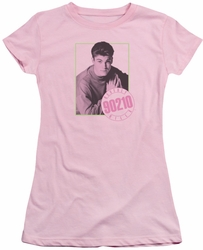 90210 juniors t-shirt David pink