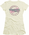 90210 juniors t-shirt To Be or Not To Be cream