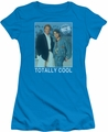 90210 juniors t-shirt Totally Cool turquoise