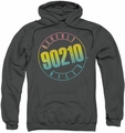 90210 pull-over hoodie Color Blend Logo adult charcoal