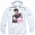 90210 pull-over hoodie Dylan adult white