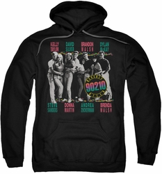 90210 pull-over hoodie We Got It adult black
