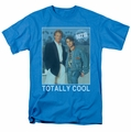90210 t-shirt Totally Cool mens turquoise